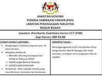 Jawatan Kosong di Jabatan Perangkaan Negeri Kedah - Terbuka Lelaki & Wanita / Minimum SPM
