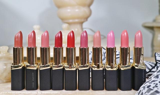 10 Best Seller Shades L'oreal New Color Riche Matte Lipstick