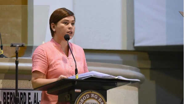 "Sara Duterte calls Davao teachers' group ""terrorists, liars"" for claims on allowances"