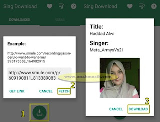 Cara Download Rekaman Video Smule