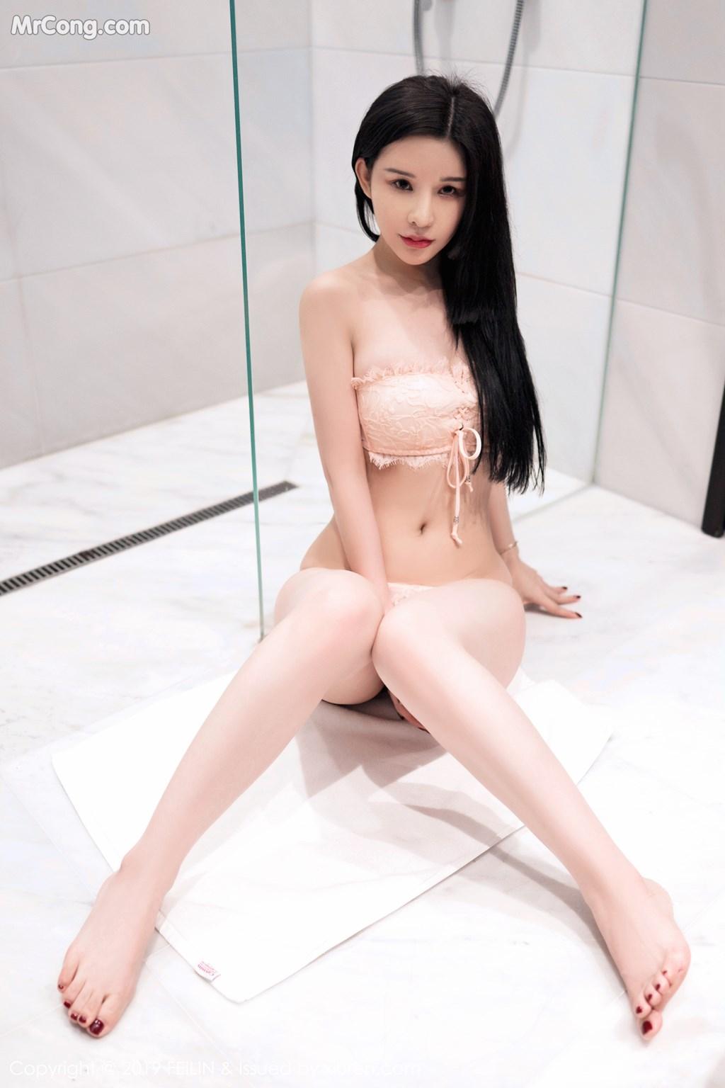 Image FEILIN-Vol.184-Zhang-Yu-Meng-MrCong.com-002 in post FEILIN Vol.184: Zhang Yu Meng (张雨萌) (41 ảnh)