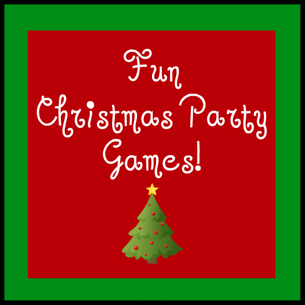 Christmas Party Games Ideas For Adults: The Christian Wife Life: Fun Christmas Party Games