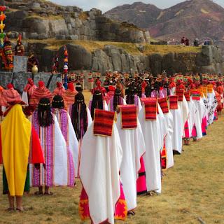 Terceiro Ato do Inti Raymi, em Sacsayhuaman