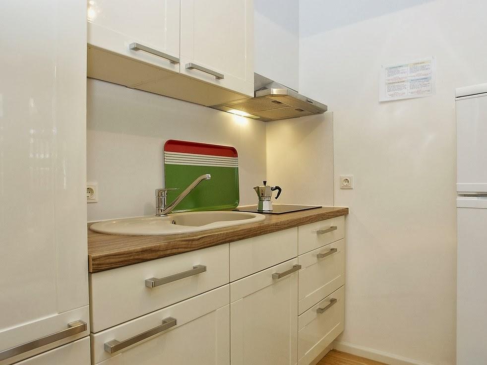 Fotos de cocinas pequeas y modernas  Colores en Casa