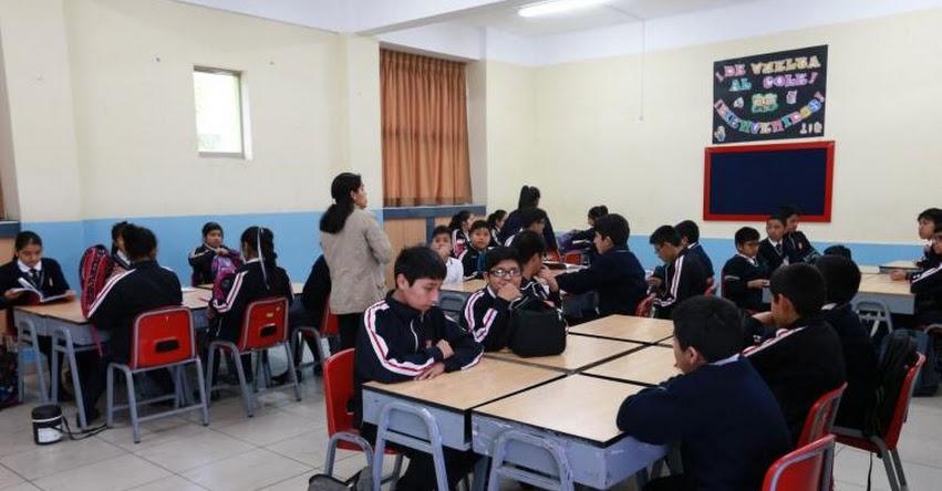 DRE San Martín convocará a docentes para sustituir a profesores en huelga