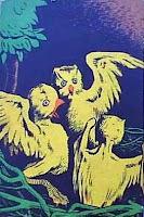 Fábulas. Monteiro Lobato. Editora Brasiliense. Augustus (Augusto Mendes da Silva). Contracapa de Livro. Década de 1950. Década de 1960.
