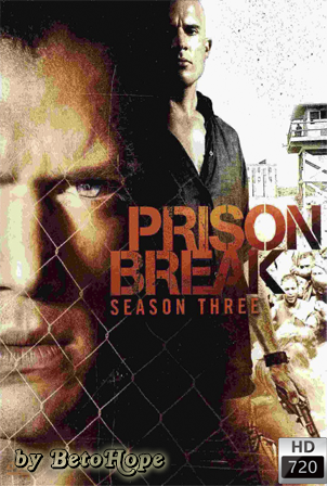 Prison Break Temporada 3 [720p] [Latino-Ingles] [MEGA]