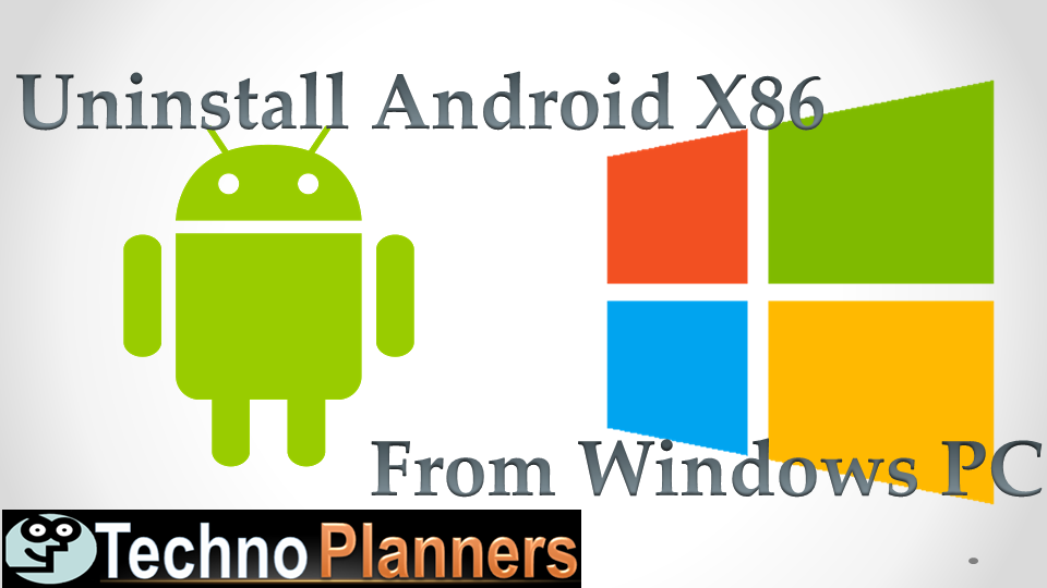Uninstall Android X86 4.4.2 from your PC and notebook