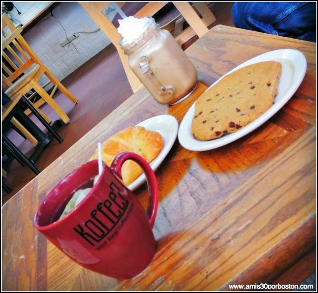 Cafetería de New Haven: Koffe?
