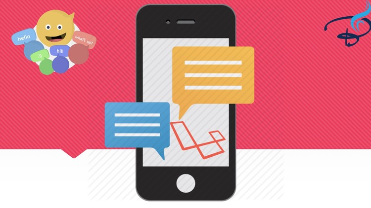 Real Time Chat With Laravel Broadcast, Pusher and Vuejs - Udemy course