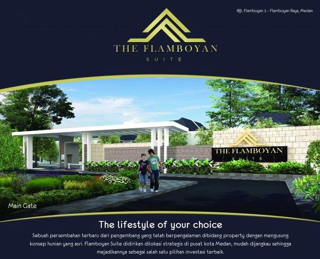 Flamboyan Suite Rumah 500 Jutaan Di Tengah Kota Medan Dekat Ke Ring Road Dan Setia Budi