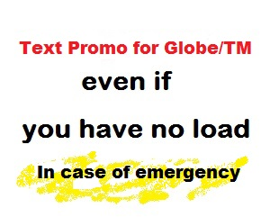 Utang Load TM And Globe Borrow Load