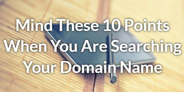 The Best Domain Name For Fast Ranking In Google or Other Search Engine