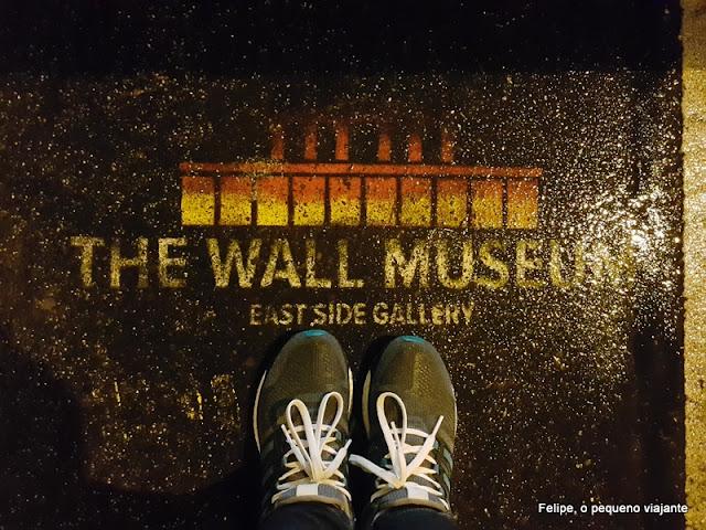 East Side Gallery em Berlim Alemanha