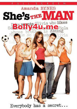 She's The Man 2006 HDTV 350Mb Hindi Dual Audio 480p Watch Online Full Movie Download bolly4u