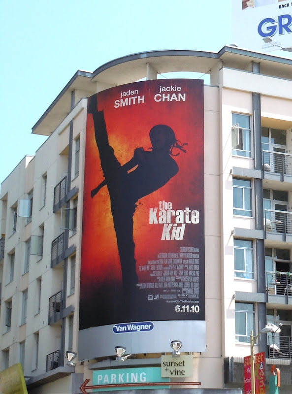 The Karate Kid 2010 movie billboard