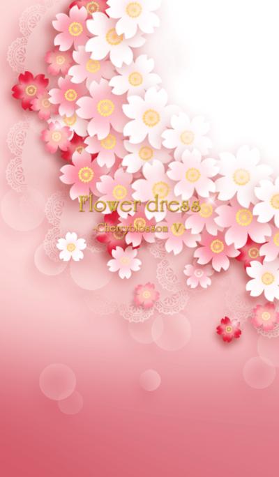 Flower dress -cherry blossom 5-