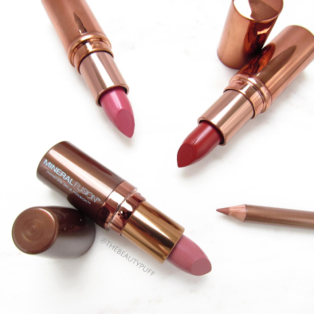 mineral fusion lipstick - the beauty puff