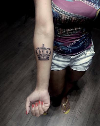 Este lindo antebraço tat