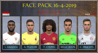 PES 2017 Facepack 16-4-2019 by Mo Ha