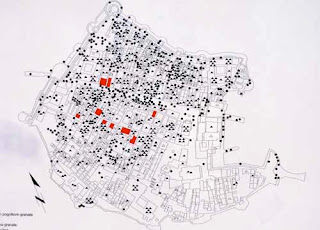 Map Bomb Damage Recent Civil War Dubrovnik croatia
