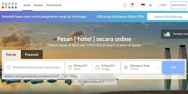 Situs Booking Hotel Terpercaya