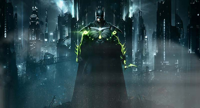 Batman glow in the dark