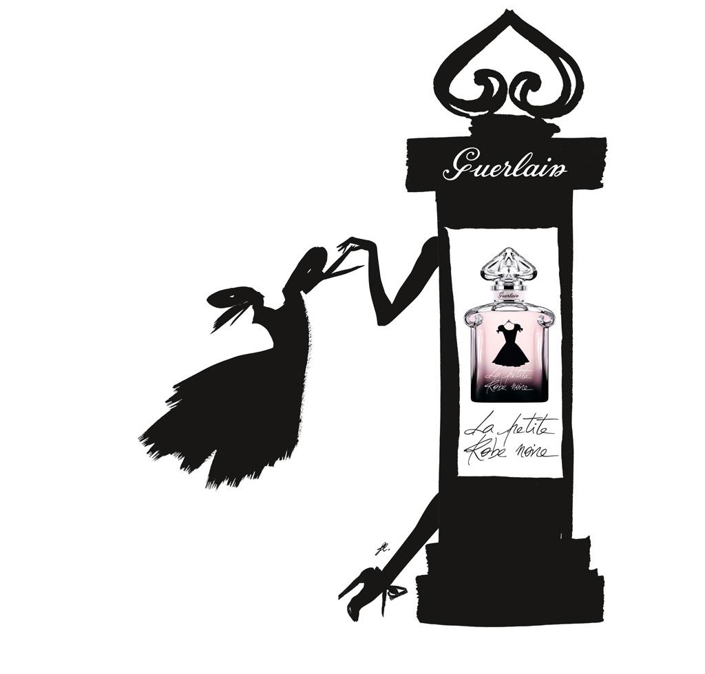 fashion medley guerlain la petite robe noire. Black Bedroom Furniture Sets. Home Design Ideas