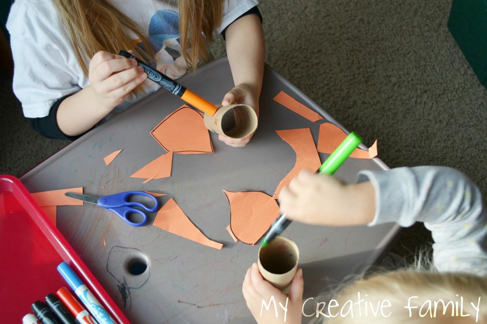 Preschool Jack Be Nimble Craft