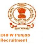 DHFW Punjab Recruitment 2017, www.pbhealth.gov.in