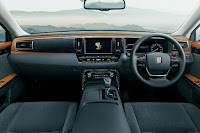 Toyota Century (2019) Dashboard