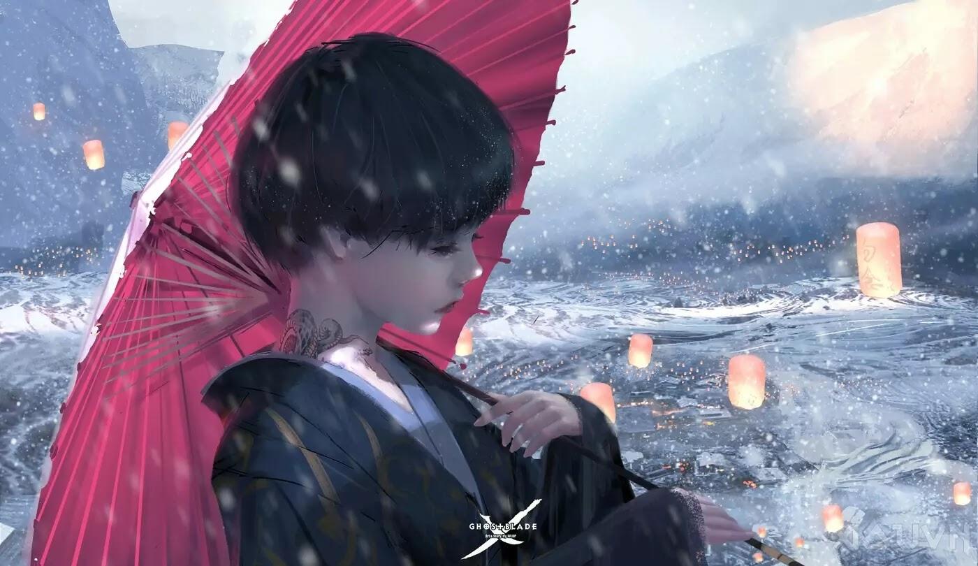 37 AowVN.org m - [ Hình Nền ] Anime Cực Đẹp by Wlop | Wallpaper Premium / Update