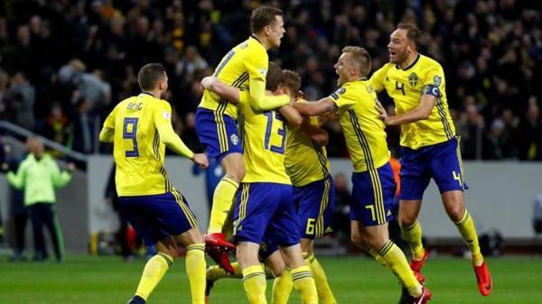 Swedia vs Chile