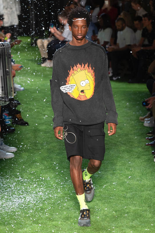 Yonomeaburro: Los Simpson: homenaje de moda by Off-White