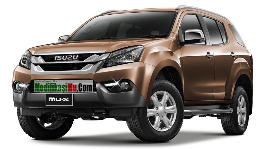 Isuzu MU X 7 - Daftar 6 Mobil MPV SUV Diesel Paling Irit Murah Mesin Bandel Terbaik Untuk Keluarga Indonesia