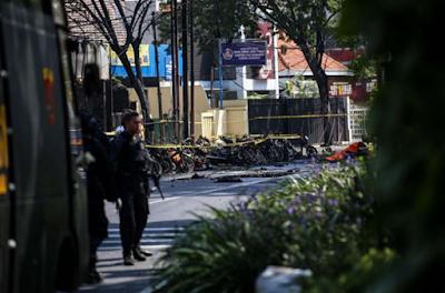 Korban Bom Surabaya: 10 Meninggal, 41 Luka-Luka