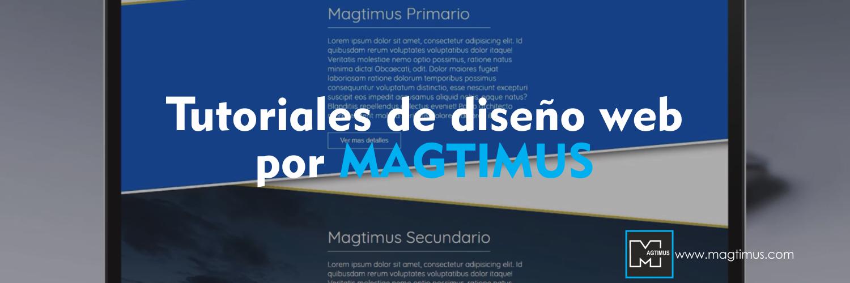 Tutoriales-de-diseño-web-por-MAGTIMUS