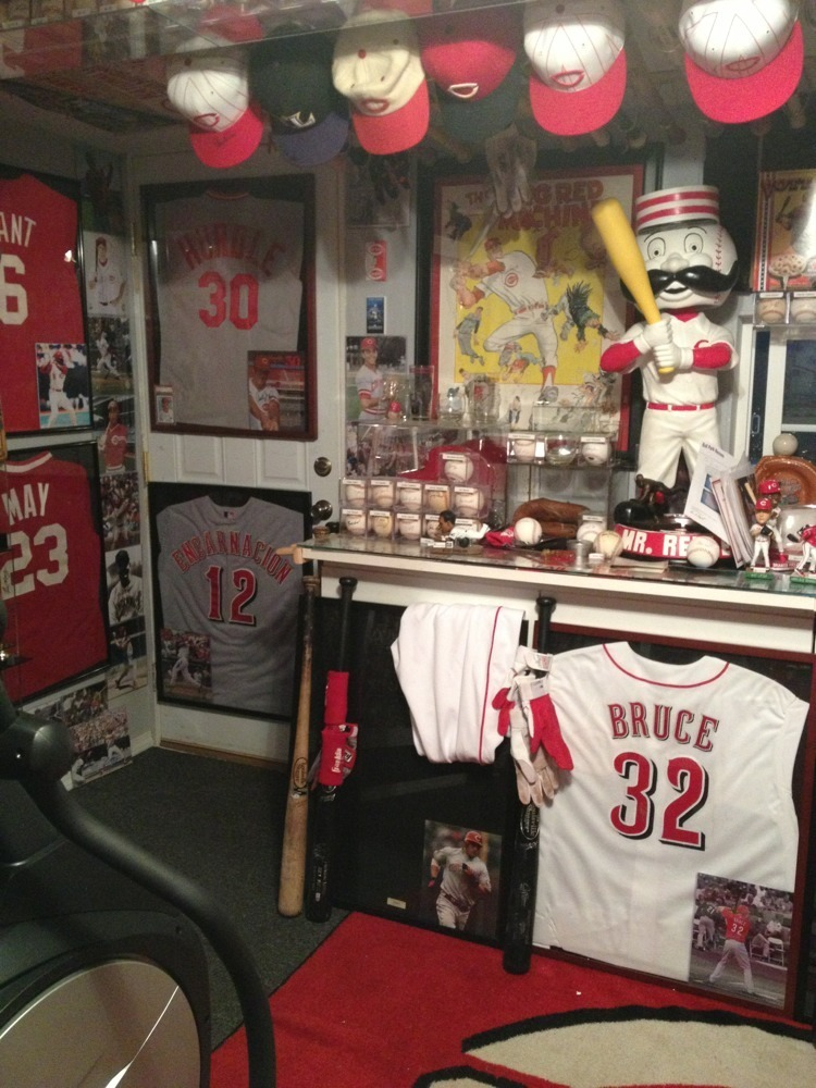 Cincinnati Reds Baseball Card Collector Another