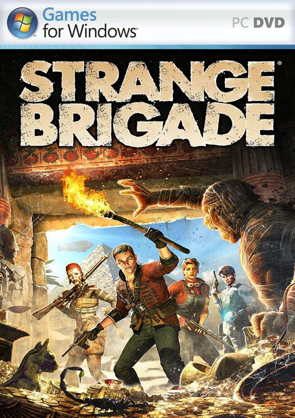 Strange Brigade PC Cover