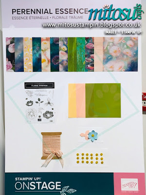 Perennial Essence Suite NEW Stampin' Up! Products #onstage2019 Display Board from Mitosu Crafts UK