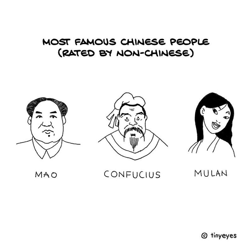 Artist Compares Chinese And Western Culture With Incredible Comics