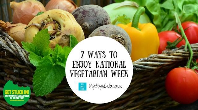 7 wats to enjoy national vegetarian week