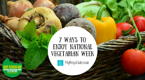 7 Ways to Enjoy National Vegetarian Week