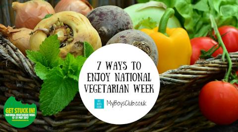 7 Ways to Enjoy National Vegetarian Week