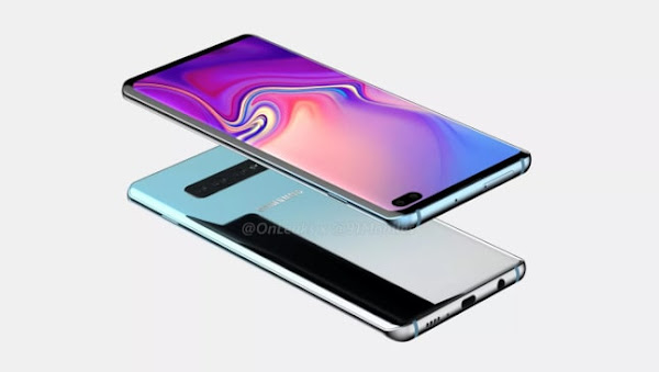 Samsung Galaxy S10 Plus leaked renders