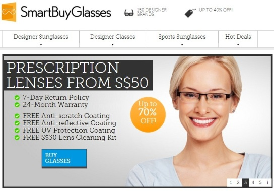 smartbuyglasses online shopping prescription lens