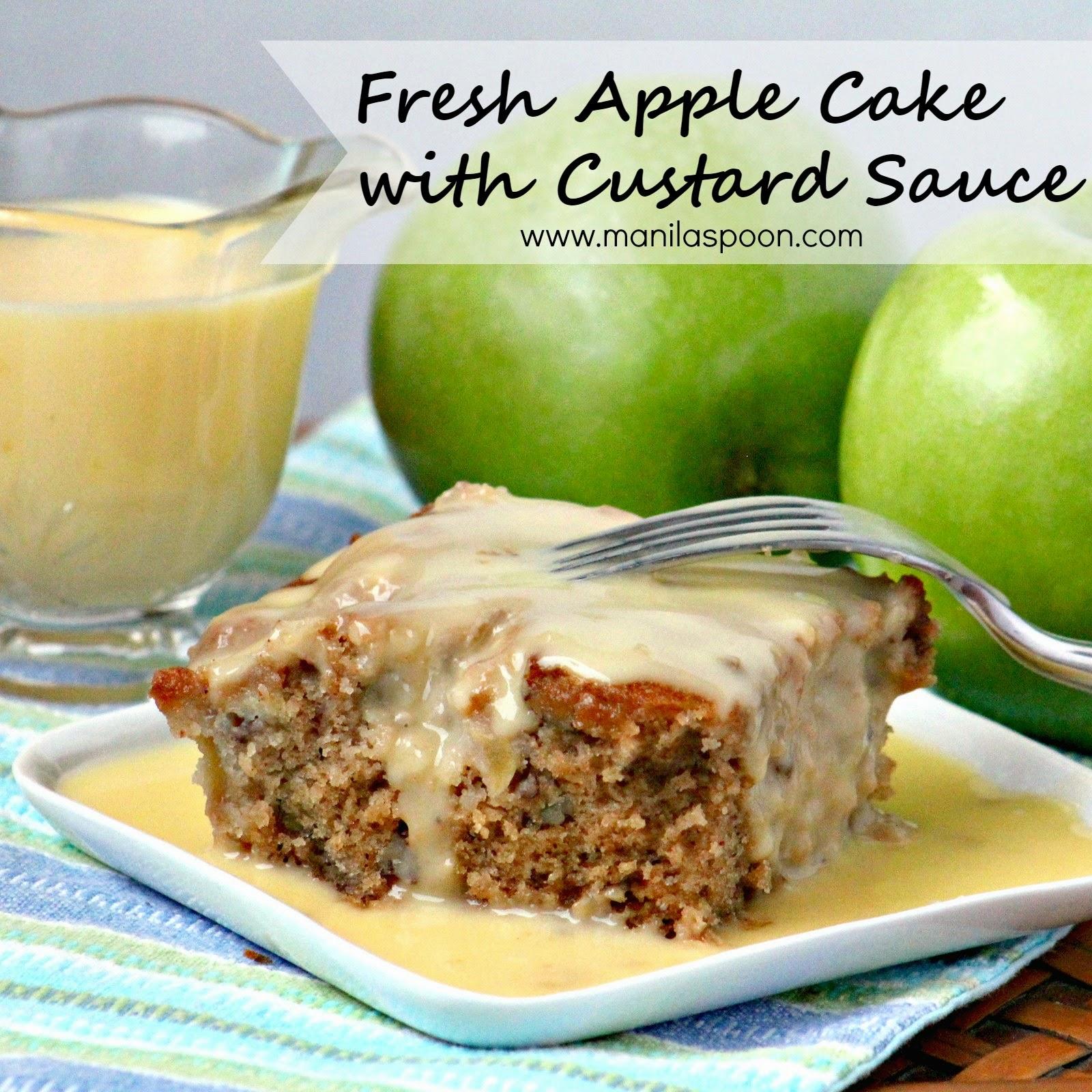 Fresh Apple Cake Manila Spoon