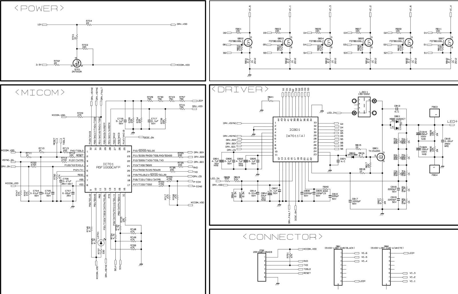 Lg Led Tv Power Supply Circuit Diagram - Somurich com