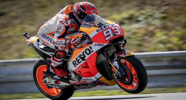 FP3 Brno: Marquez Bawa Honda Jadi Yang Tercepat, Valentino Rossi Ketiga