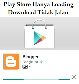 tidak bisa download di playstore menggunakan paket data